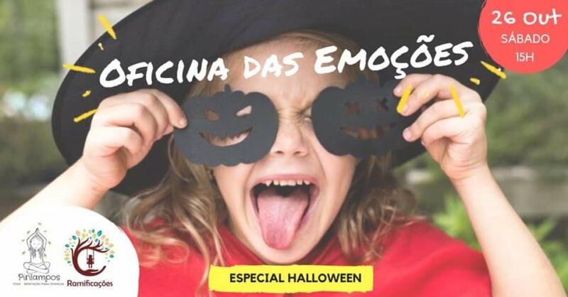 Oficina das Emoções para crianças: Especial Halloween