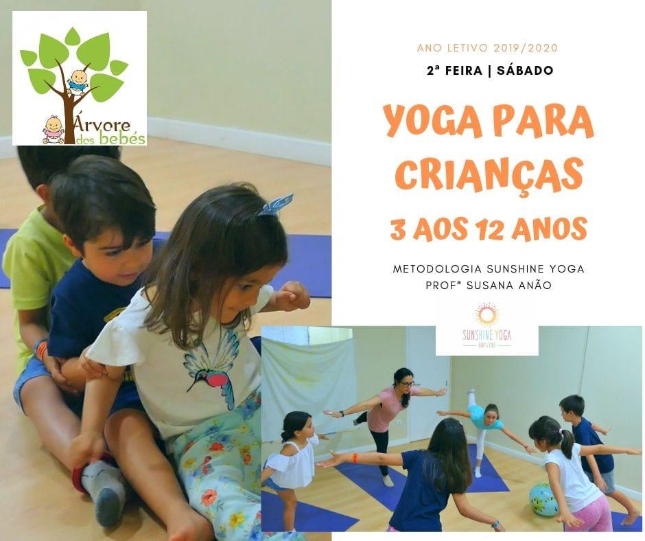 Yoga para Crianças Árvore dos Bebés