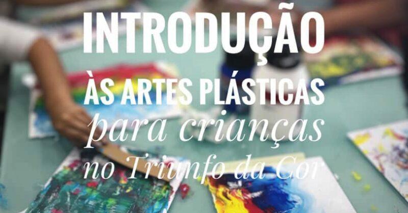 Aula aberta Gratuita: Introdução às Artes Plásticas para crianças