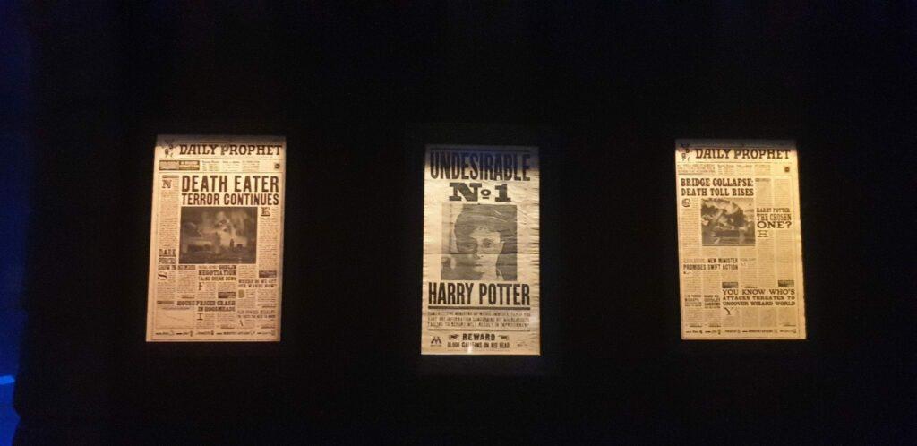 exposição harry potter artes negras