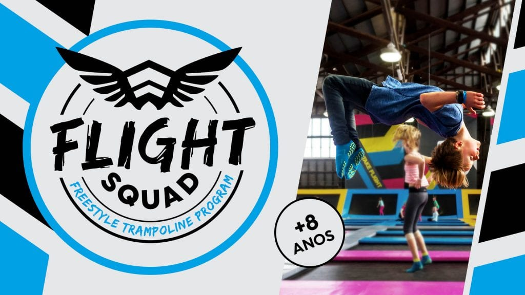flight squad Freestyle Trampolin