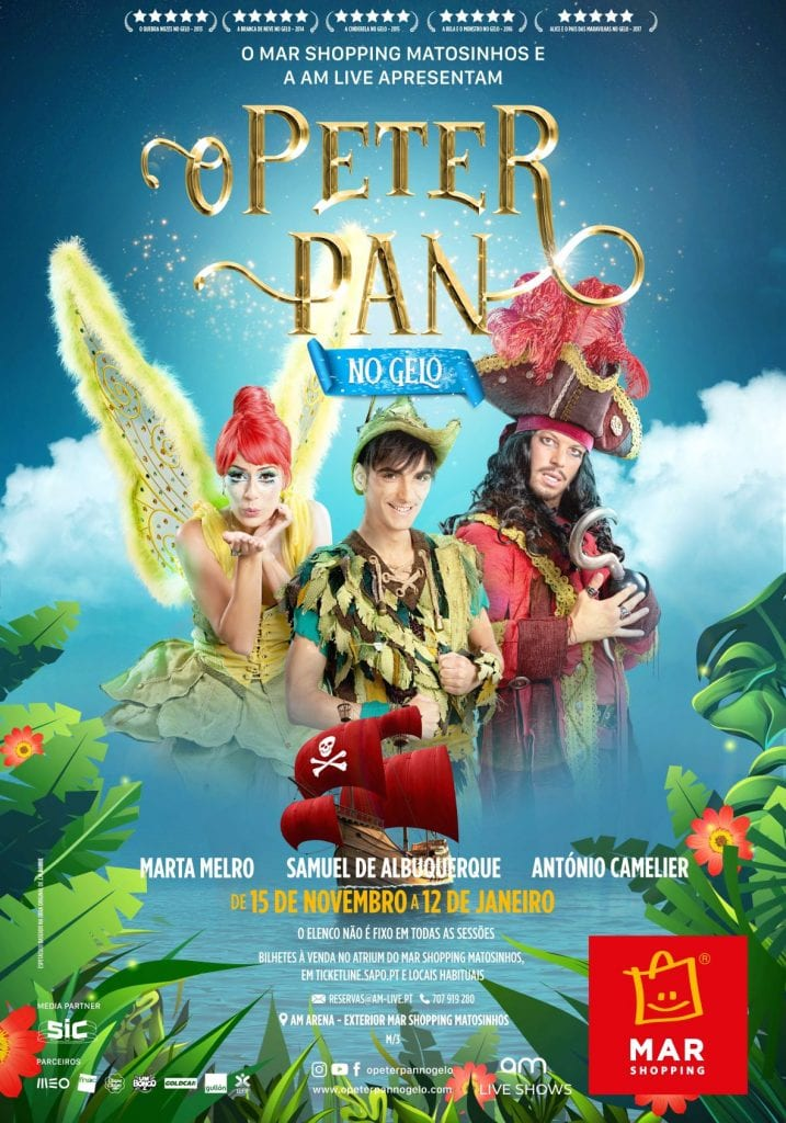 Peter Pan no Gelo