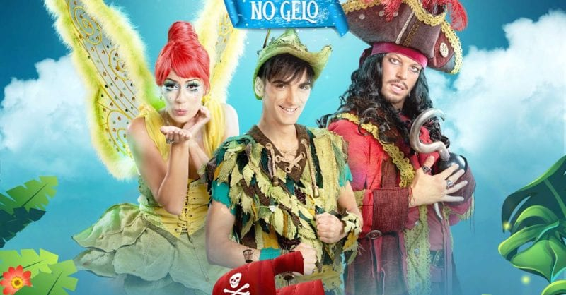 O Peter Pan no Gelo vai estar no MAR Shopping Matosinhos