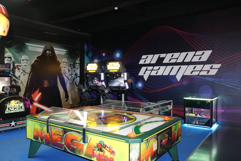 login laser tag arcade