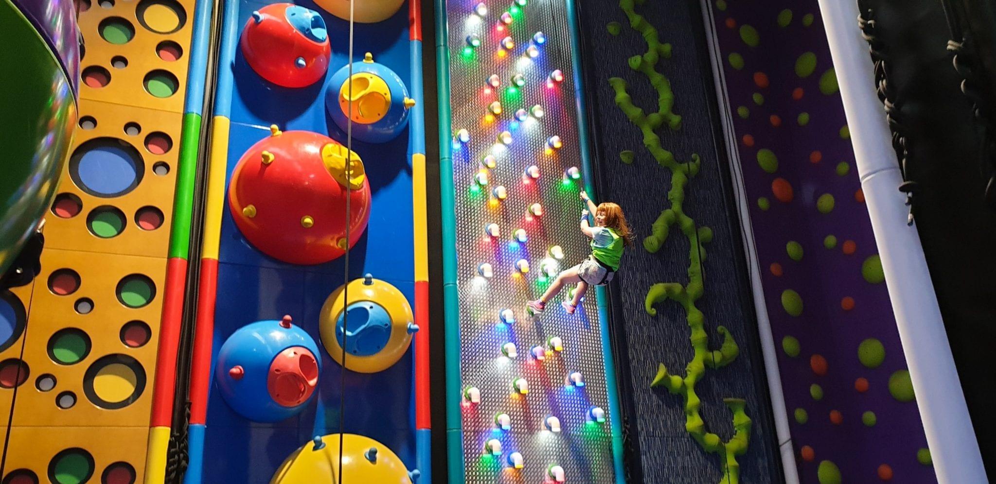 quantum park escalada saltar