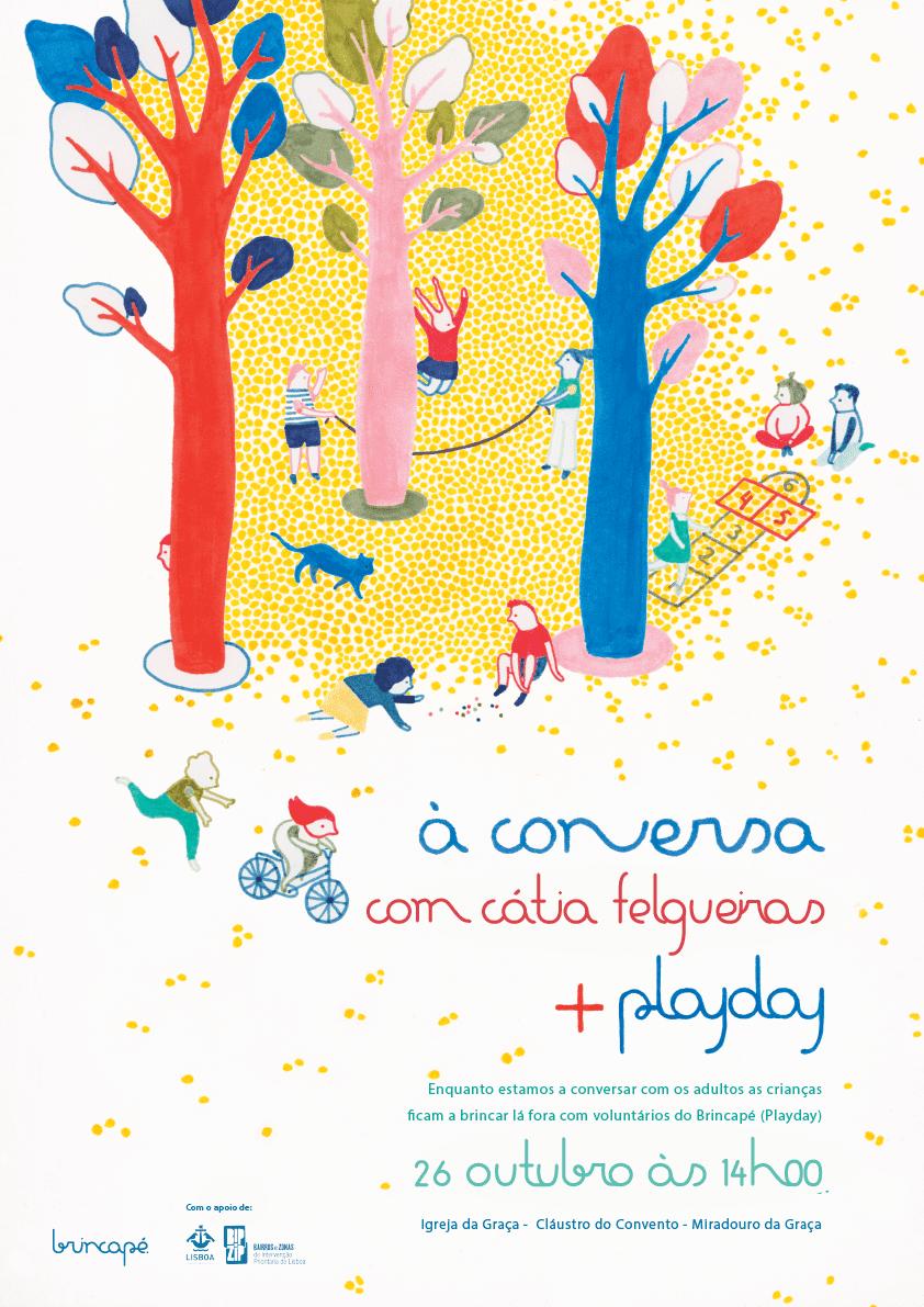 """Brincapé – PLAYday + """"À conversa"""" com Cátia Felgueiras"""