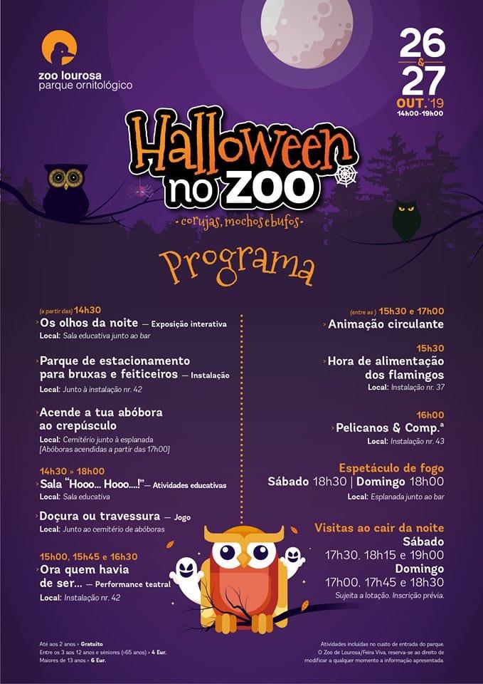 Programa Halloween Zoo de Lourosa