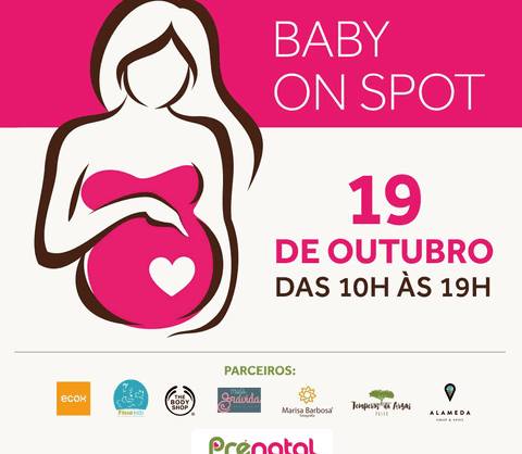 Baby on Spot – Evento Prénatal no Alameda Shop & Spot