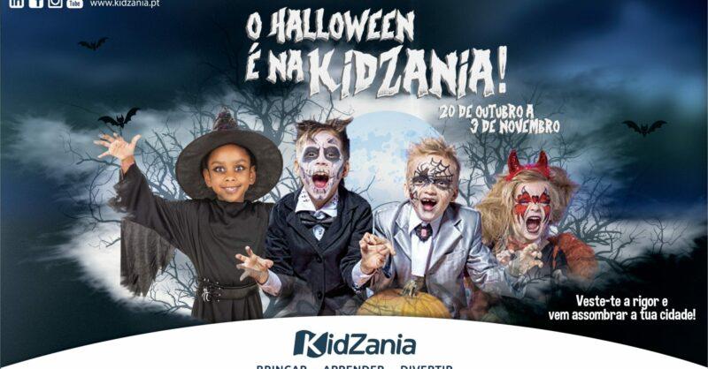 O Halloween é na Kidzania!