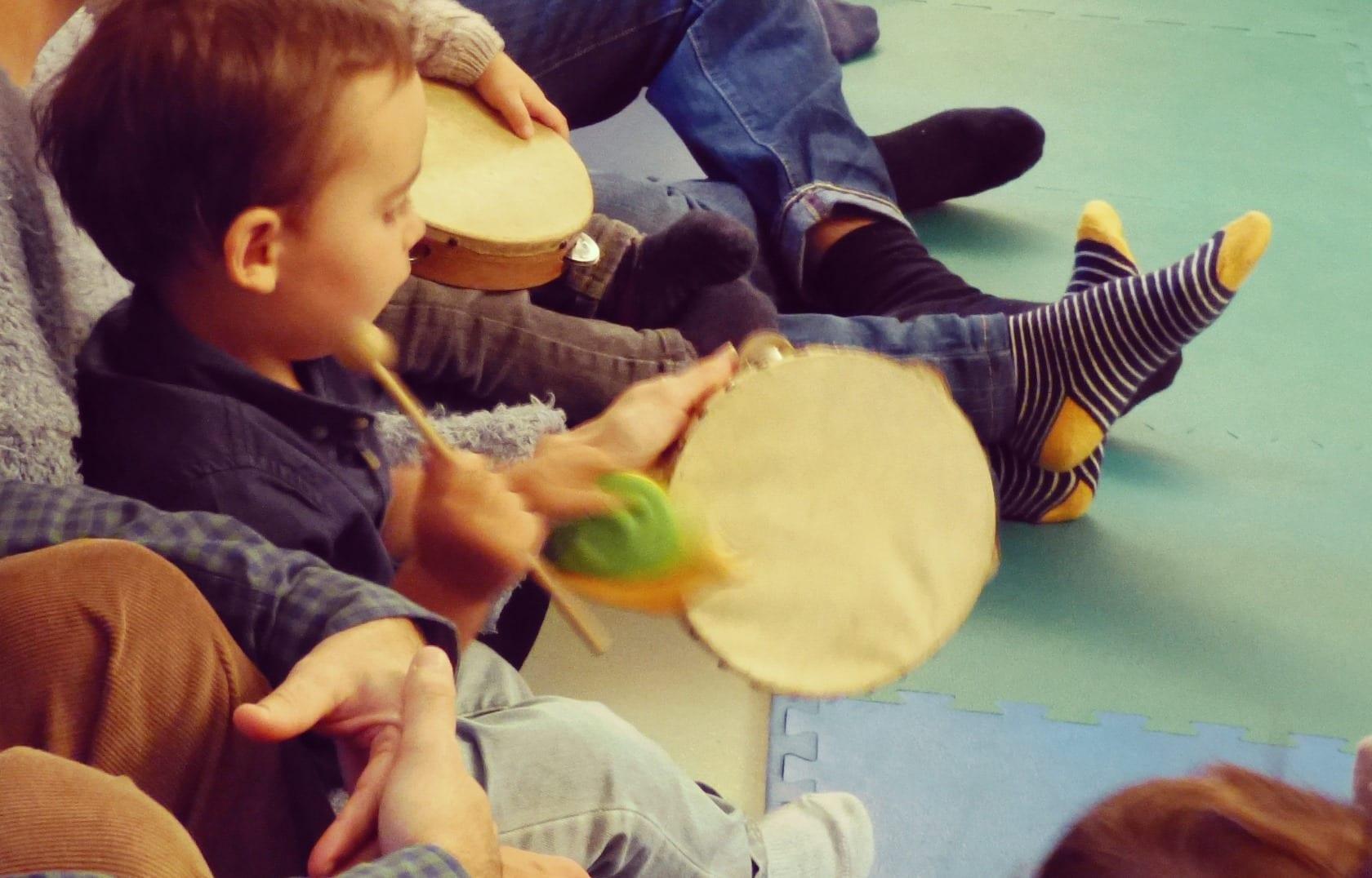 Musica para Bebes no Conservatório de Música de Sintra