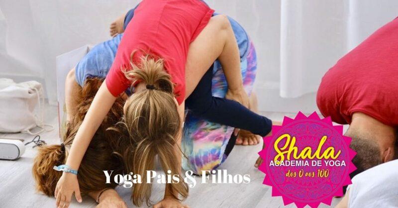 Aulas de Yoga para Pais & Filhos
