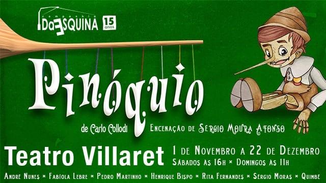 Pinóquio Teatro Villaret