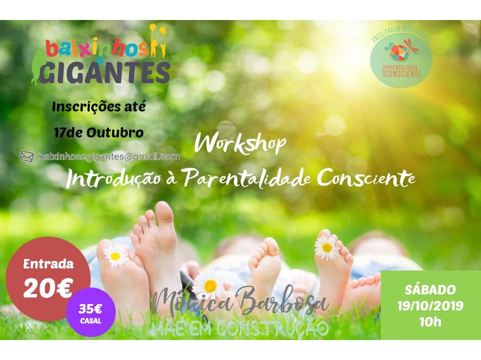 Workshop: Introdução à Parentalidade Consciente