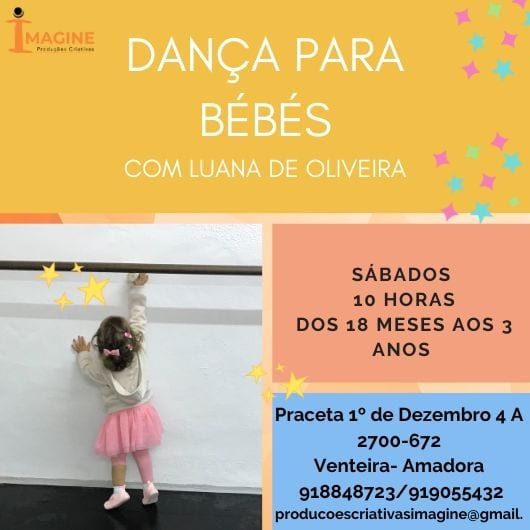 Aulas de Dança para Bebés