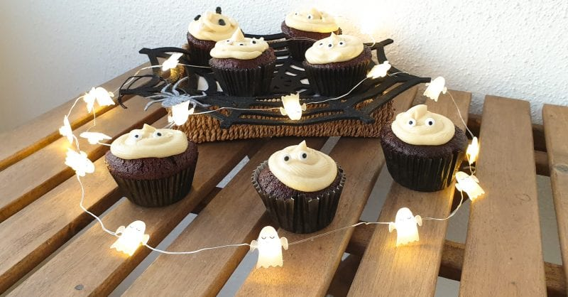 cupcakes chocolate halloween capa