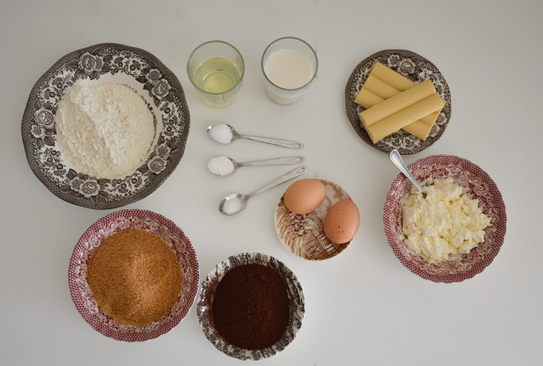 cupcakes chocolate halloween ingredientes