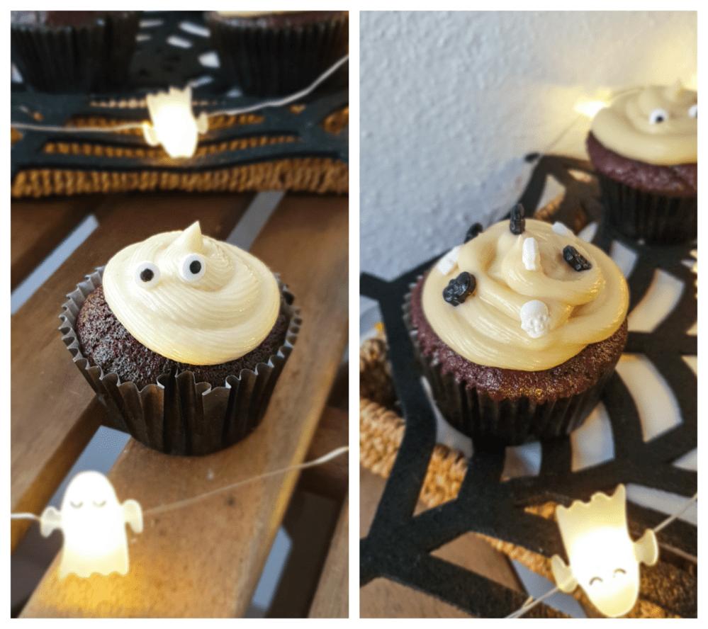 cupcakes de chocolate variação