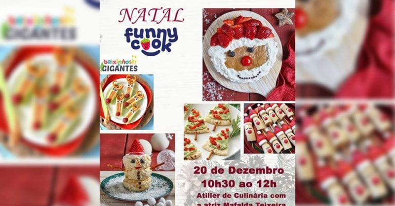 Workshop Funny Cook de Natal