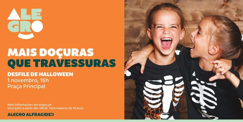 Desfile Halloween Alegro Alfragide