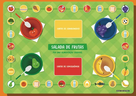 salada de frutas jogo