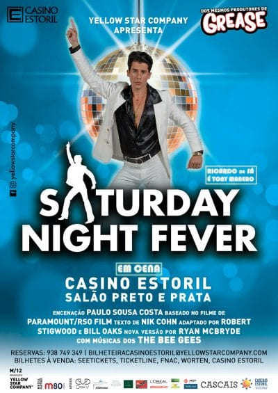 saturday nght fever cartaz