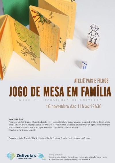 Workshop Pais e Filhos – Jogo de mesa em família