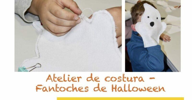 Halloween – Atelier de arte e costura criativa para crianças