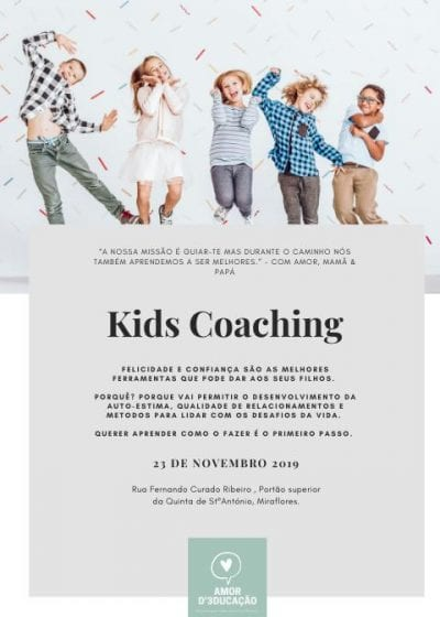 Educar com KIds Coaching – Workshop
