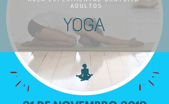 Yoga – Aula Experimental Gratuita