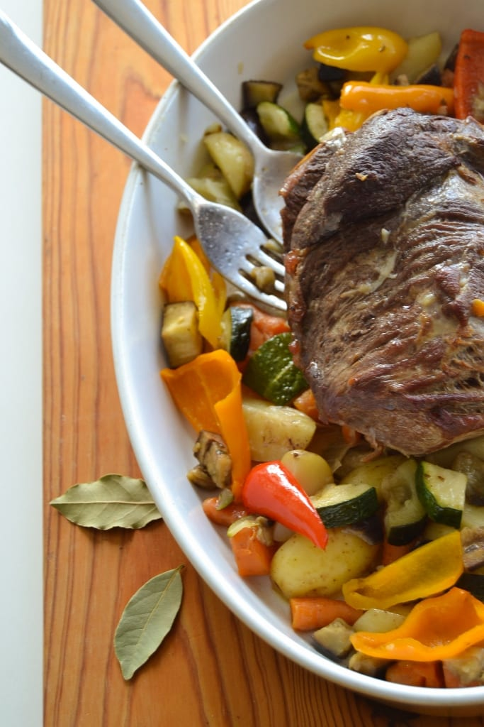 Carne assada no forno- resultado final