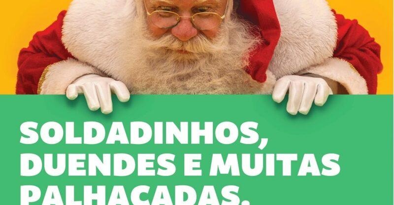O Pai Natal chega a Castelo Branco para inaugurar o Alegroland!