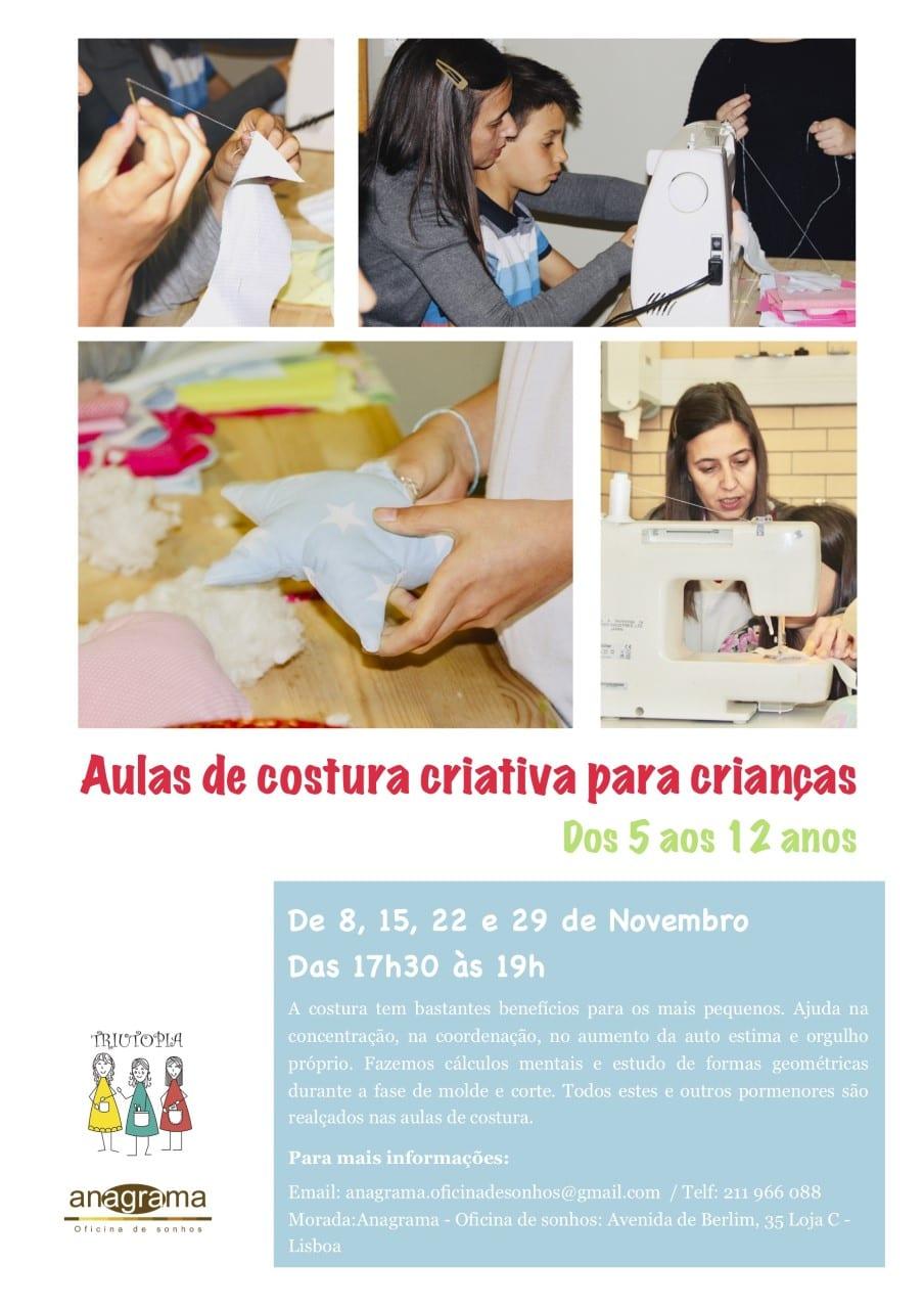 curso de Costura Criativa