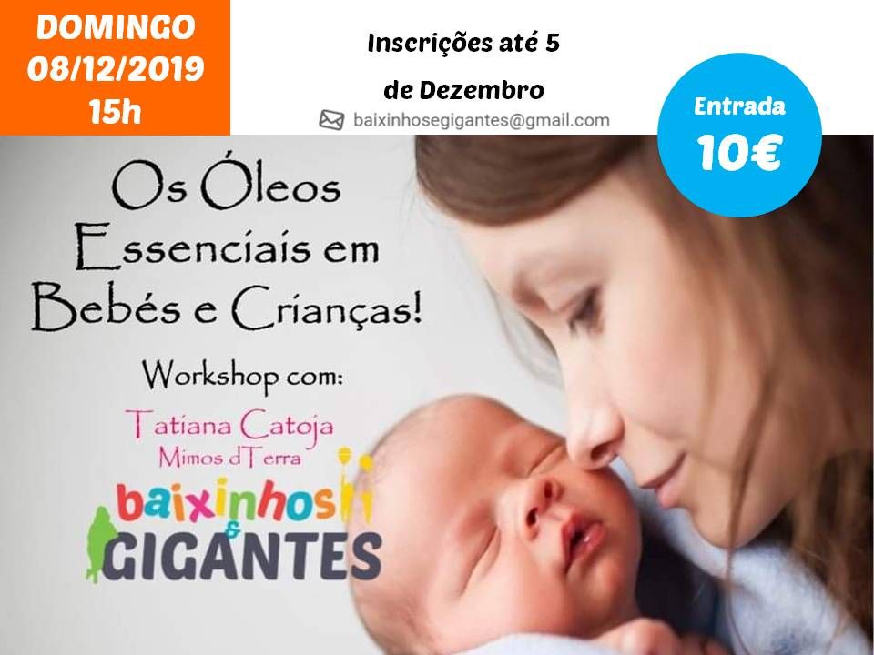 Os Óleos Essenciais em Bebés e Crianças