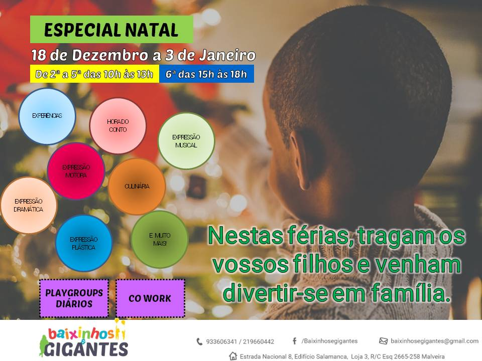 Playgroups – ESPECIAL NATAL