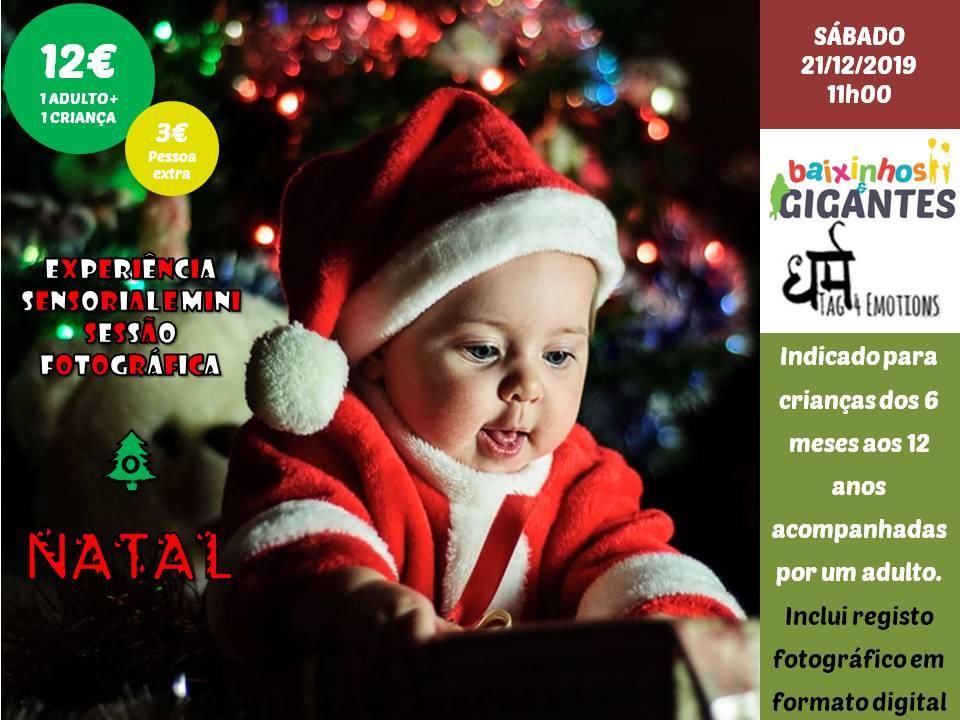 """Experiência Sensorial """"O Natal"""""""