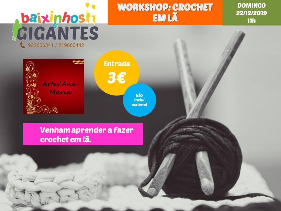 Workshop – Crochet em Lã