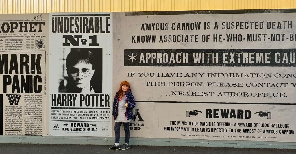 Entrada da Tour - Harry Potter Londres