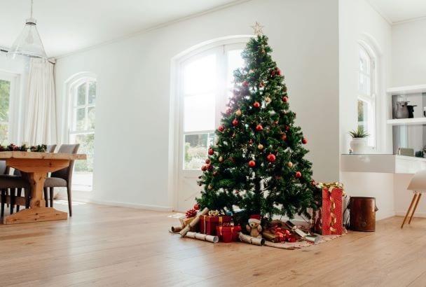 Feng shui no natal árvore de natal
