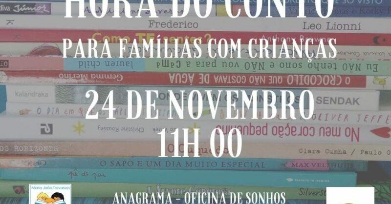 Hora do Conto com Maria João Travassos