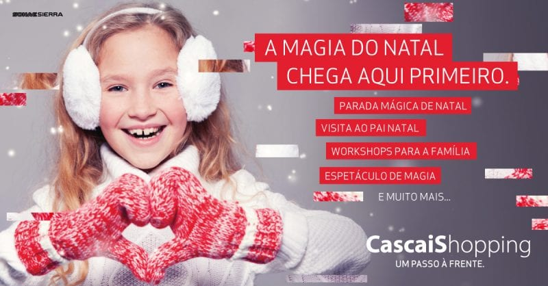 A magia do Natal no CascaiShopping!