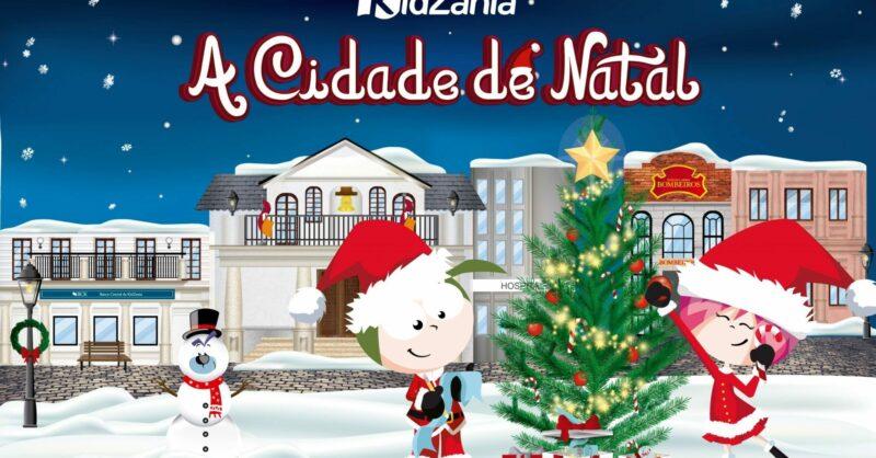 Conseguem ouvir? O Natal é na KidZania!