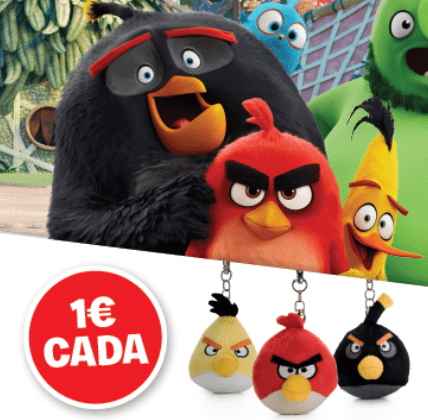 angry birds porta-chaves