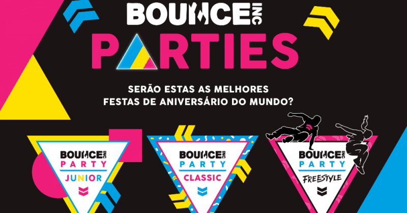 bounce festas