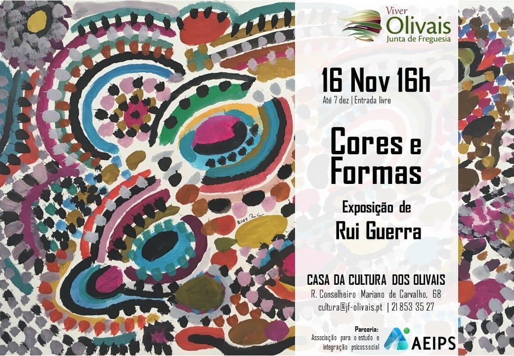 Exposição de desenho e pintura do artista Rui Guerra