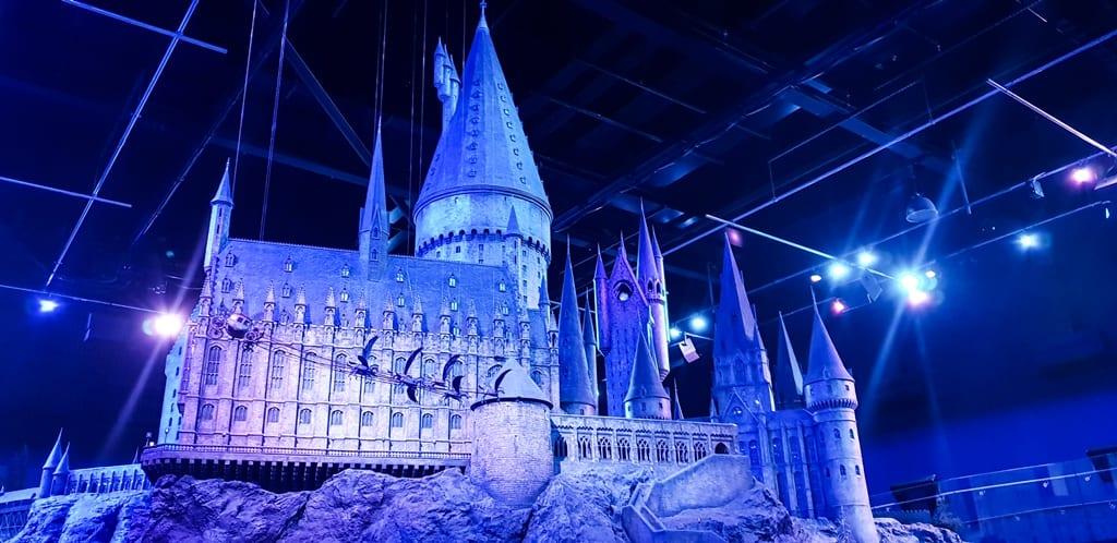 cenário hogwarts- Harry Potter Londres