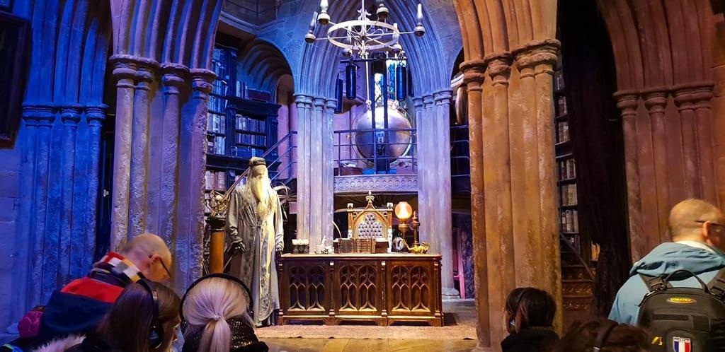 sala do Dumbledore - Harry Potter Londres