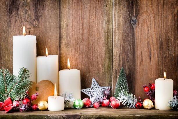 feng shui no natal velas natalicias