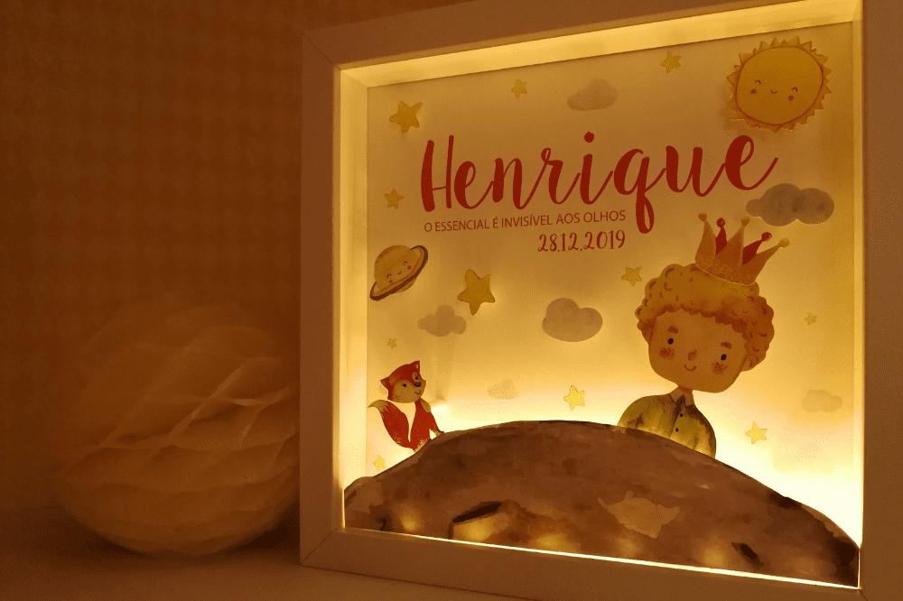 henrique quadro de luz