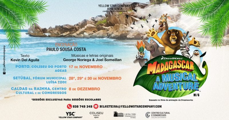 Madagascar – Uma Aventura Musical