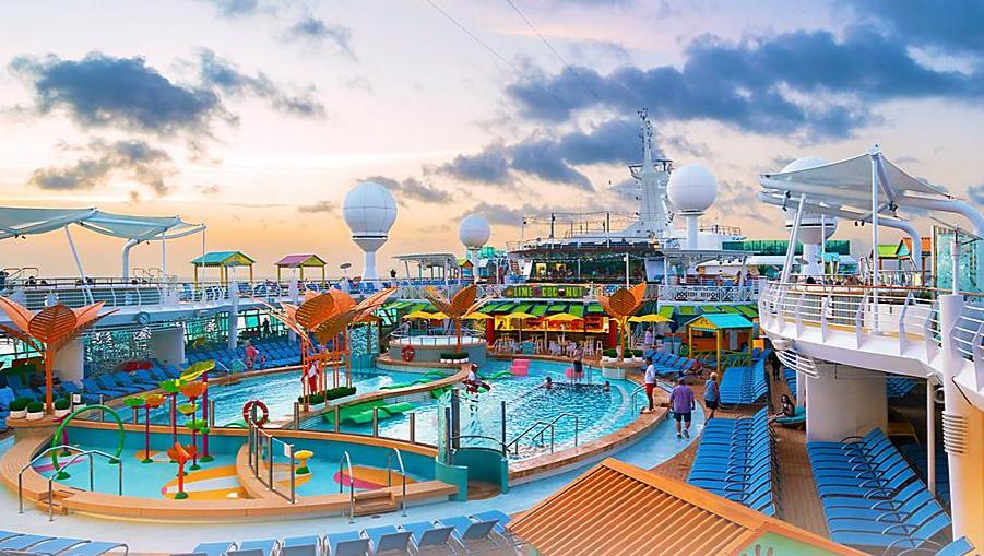 piscinas oasis of the seas